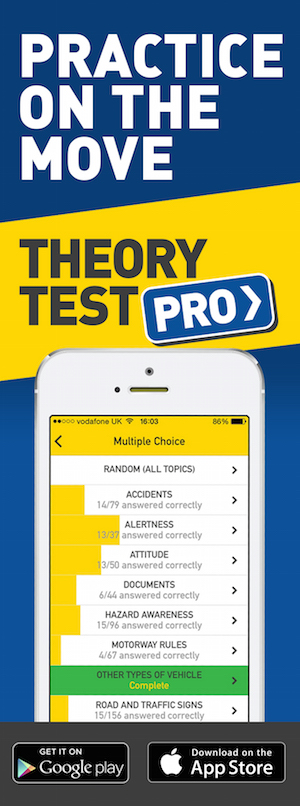 Theory Test Pro in partnership with Gary Bennett driving school